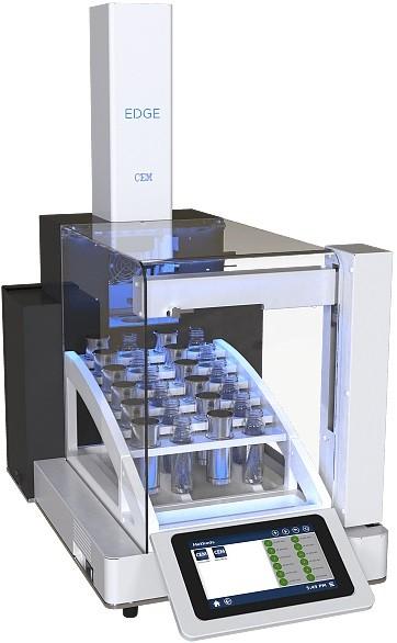 EDGE - extrakcia na prípravu vzorky